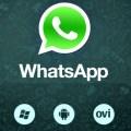 in questa immagine è presente il logo di whatsapp