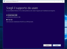 questa immagine mostra lo screen della procedura per installare windows 10 da pendrive usb.