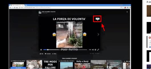 pulsante scaricare video facebook