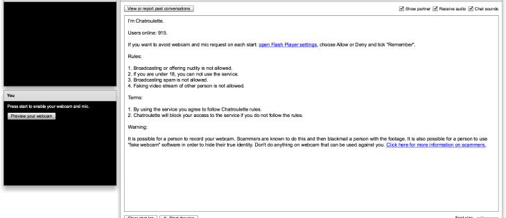 screen sito chatroulette