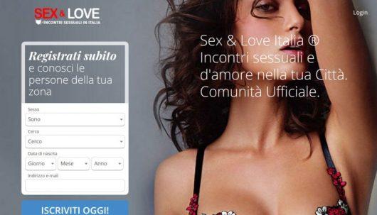 Sex and Love è un sito per chat over 40