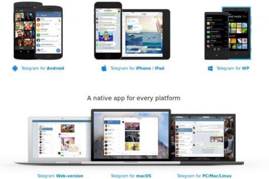 Dispositivi compatibili per seguire le persone su Telegram