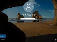 Schermata di login di windows 8.1