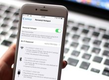 Cambiare password hotspot su iPhone