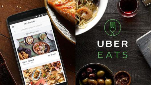 UberEATS, app per ordinare cibo online