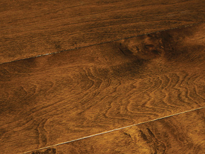 Prefinished Engineered Birch Tobacco 12 X 6 Hallmark