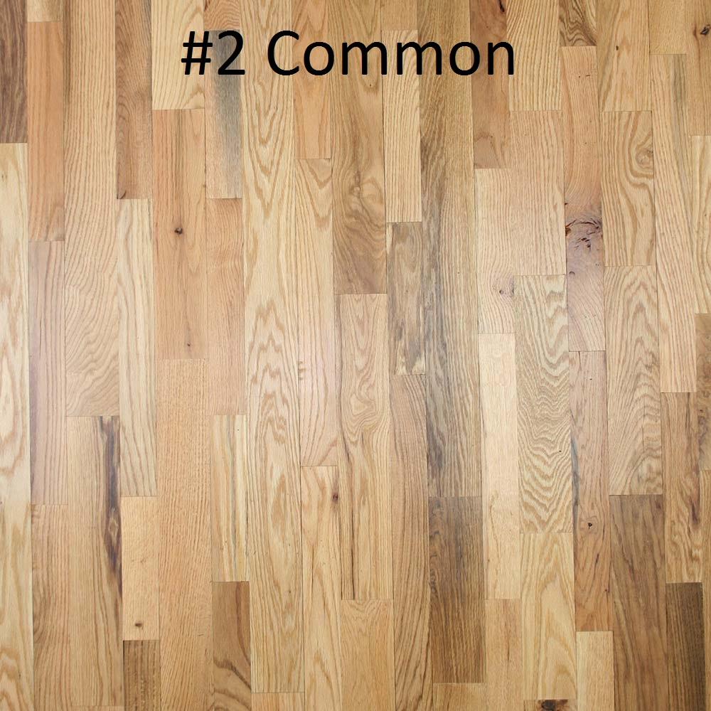 Unfinished Solid Red Oak 34  PC Hardwood Floors
