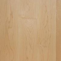 "3/4"" x 3-1/4"" Prefinished Clear Maple Hardwood Flooring"