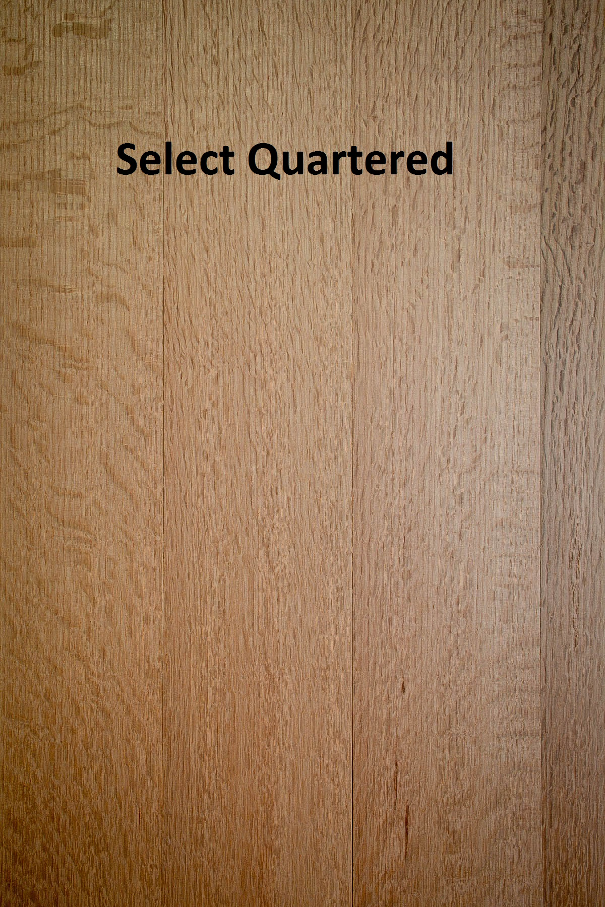 Unfinished Solid Red Oak RQ Rift Only Quartered Only X