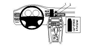 Brodit ProClip 854130, Armaturenbrett, Mitte oben für