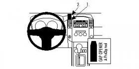Brodit ProClip 853266, abgewinkelte Befestigung für VW
