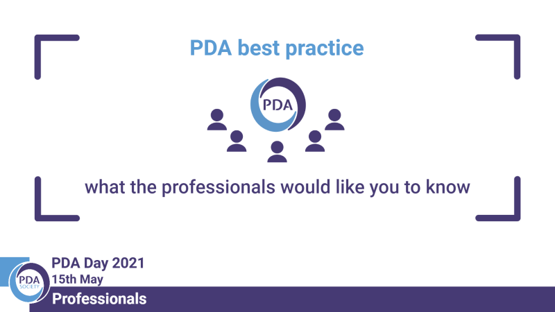 PDA best practice – the professional voice