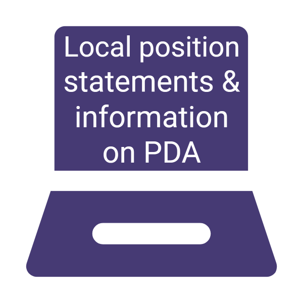 Local position statements and information on PDA