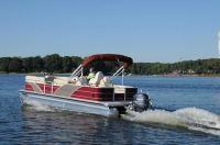 Boat Test Monday: Aqua Patio 240 Sun Lounger | Pontoon ...