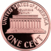 US Penny back clip art