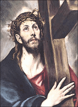 Bible New Testament Christ Carrying the Cross El Greco