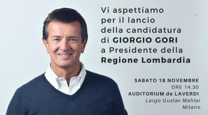 Sabato 18 novembre con Giorgio Gori a Milano
