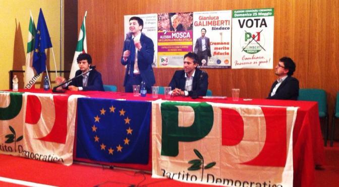 """Il PD chiude la campagna elettorale con Roberto SPERANZA:""""Anche da Cremona un contributo vero per cambiare l'Italia e l'Europa!"""""""