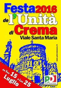 man festa Crema Santa Maria 2016