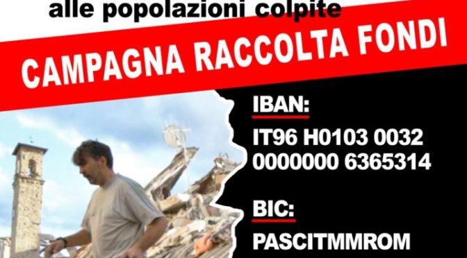 Terremoto: anche i circoli PD di Cremona a disposizione per la raccolta di materiale