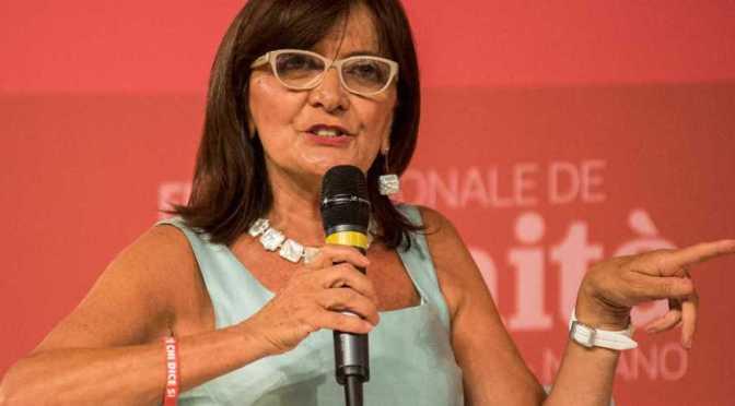 Giovedì 22 novembre Patrizia Toia (europarlamentare PD) a Rivolta d'Adda per parlare di Europa