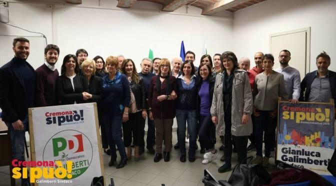 Cremona: presentata la lista del Partito Democratico a sostegno di Galimberti