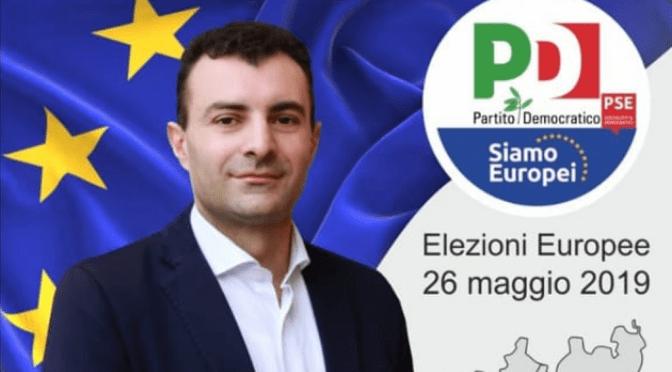 Sabato 18 maggio aperitivo con Carmine Pacente (candidato alle elezioni europee) a Crema