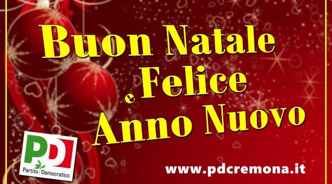 Giovedì 19 dicembre il tradizionale brindisi di auguri in sede PD a Cremona