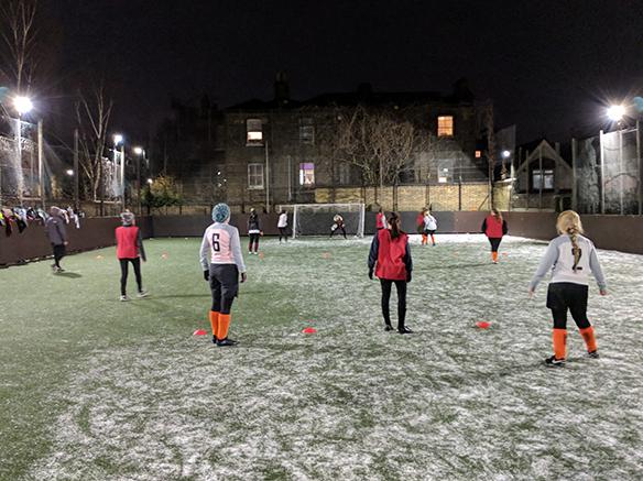 PDD-Sponsors-Brockwell-United-Womens-Team_training