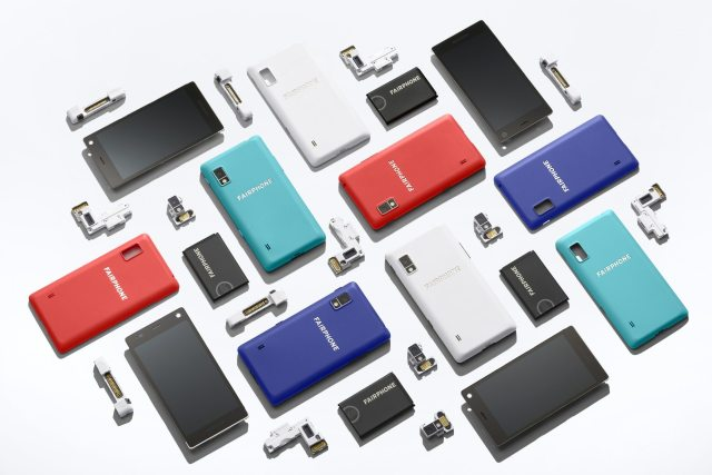 Fairphone modular phone parts