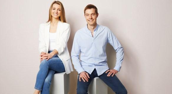 OLAV Chefmesser founders Christina and Tili
