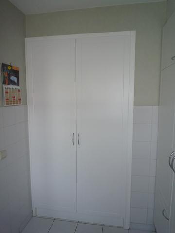 Keuken renovatie ingebouwde kast  Interieurbouw De Clercq