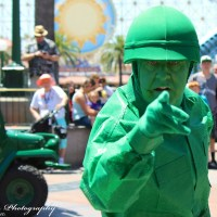Green Army Men - Disneyland