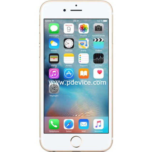 Apple iPhone 6s Smartphone Full Specification