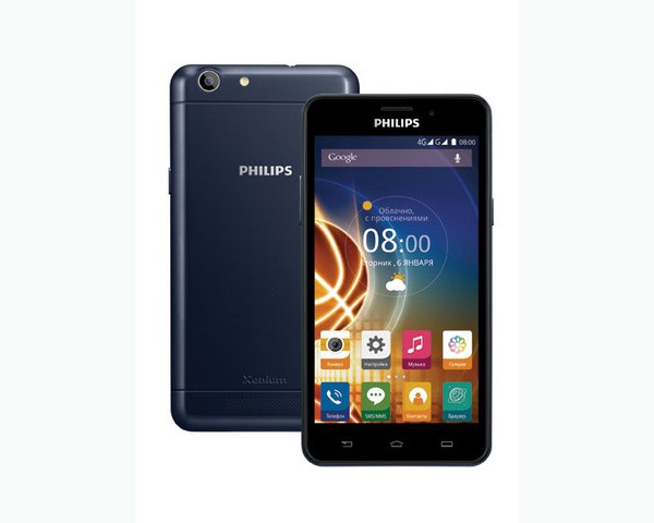 Philips Xenium V526 Smartphone Full Specification