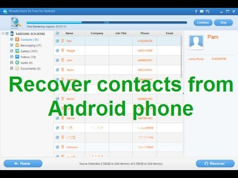 How to Sync Android Contacts With Gmail - wikiHow