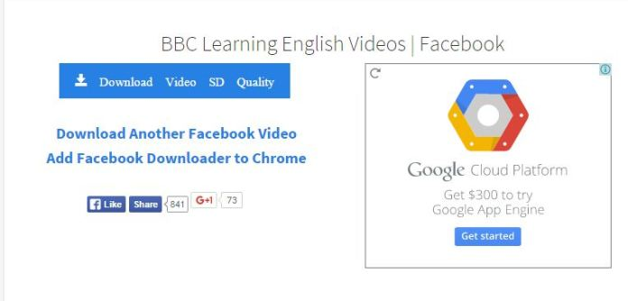 Facebook video and Add Facebook downloader to chrome