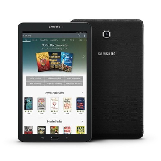 Samsung Galaxy Tab E Nook Tablet Full Specification