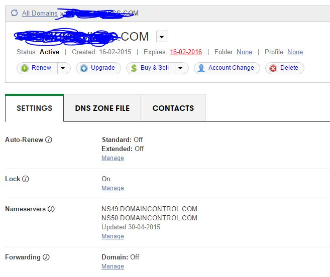 How to Delete Domain from Godaddy Panel