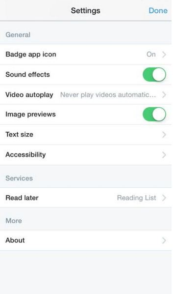 How to Turn off video autoplay on Twitter for iOS