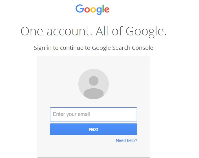 How to submit new link to google webmaster tool