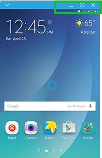 SideSync - Samsung Galaxy Note5 User Guide