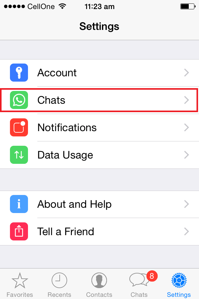 WhatsApp - How to Stop Auto Downloading and Saving of Photos