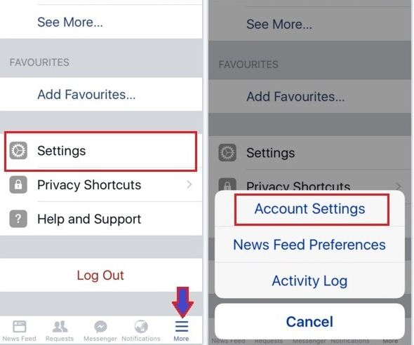 turn off Autoplay facebook video on iPhone, iPad