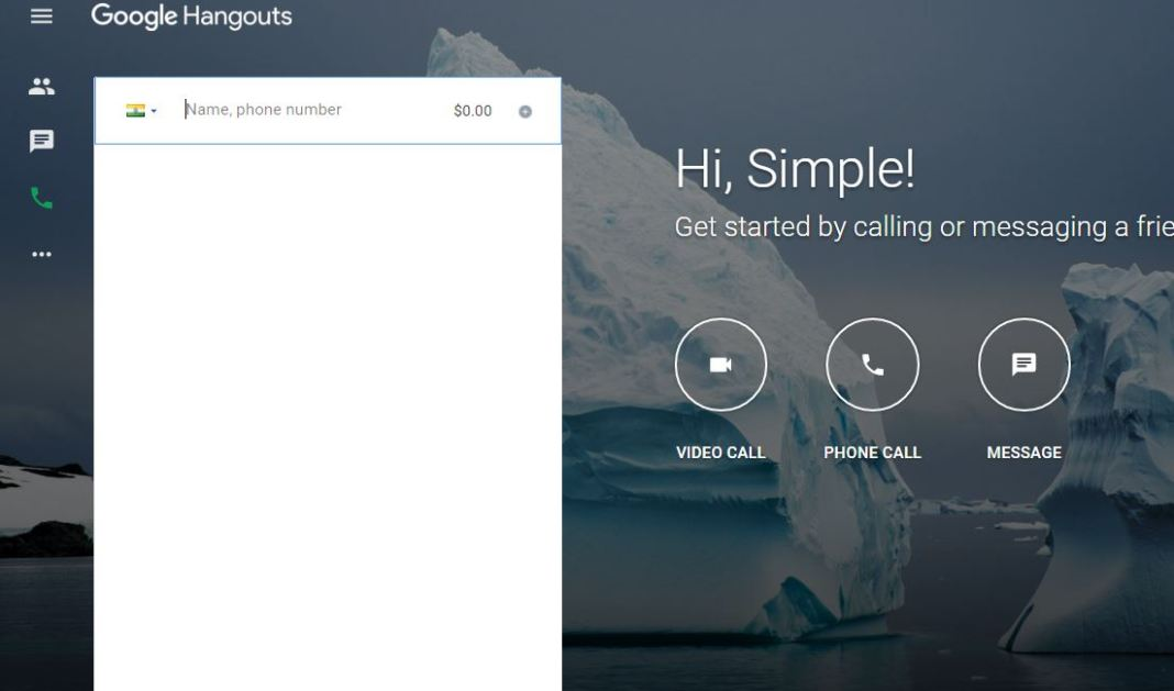 Free Call from Your desktop or Laptop with Friends Online Using Google Hangout