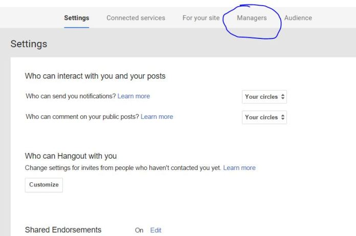 How to Add an Admin or Manager to Your Google Plus Page