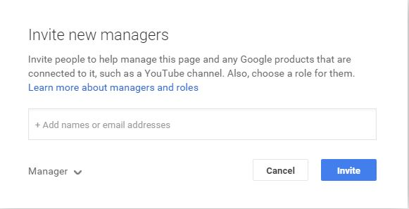 How to Add and remove an Admin or Manager to Your Google Plus Page