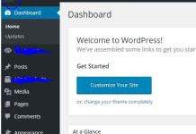 How to Change WordPress Logo on Admin Signup or Login, about us from top left area