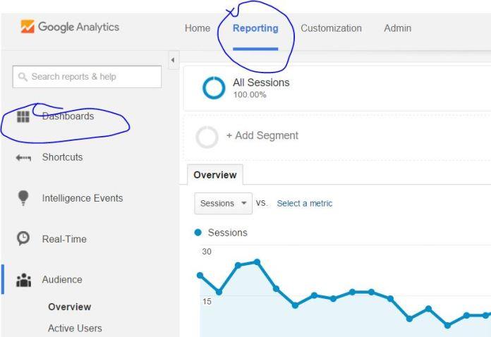 how to get into my analytics account