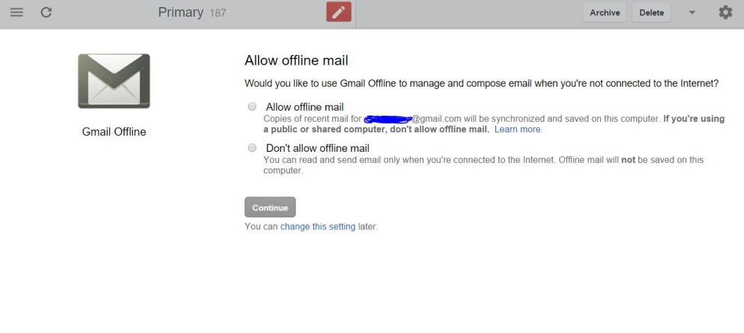 How to Read All Inbox Mail without Internet